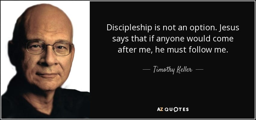 Why Bother With Discipleship?